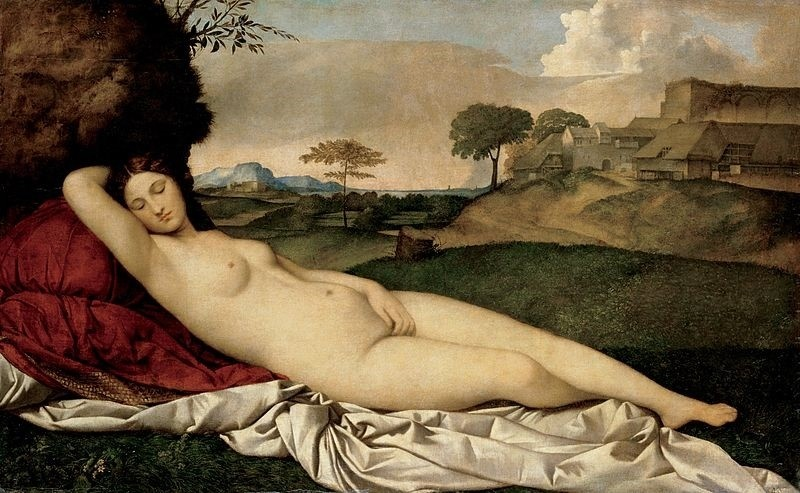 the sleeping venus giorgino