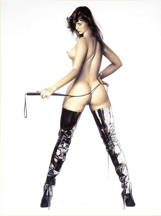 Sorayama Hajime bondage