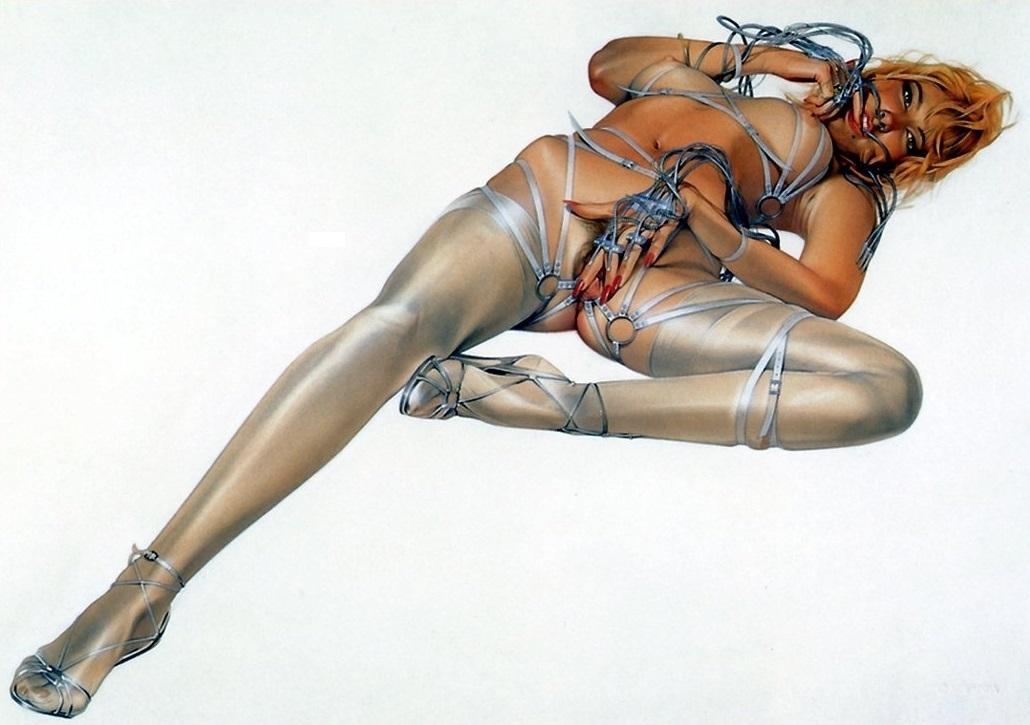 Sorayama Hajime erotic