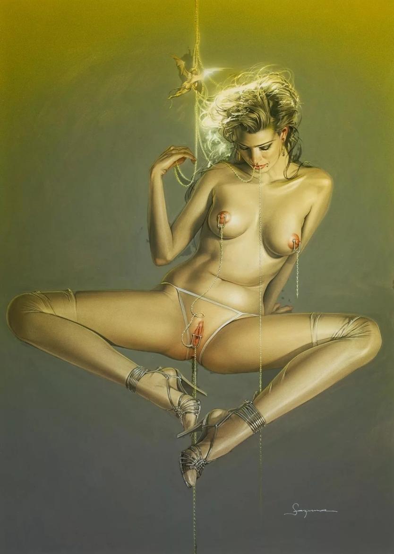 Sorayama Hajime nude