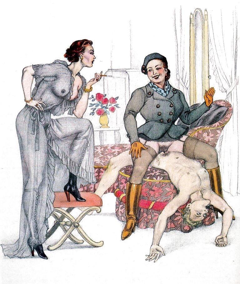spanking artist