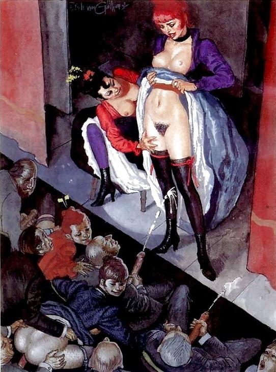 striptease erich von gotha