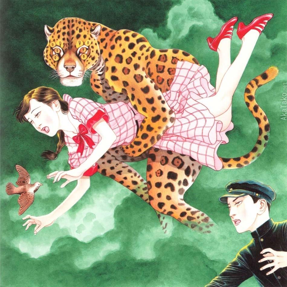 suehiro maruo feline abduction