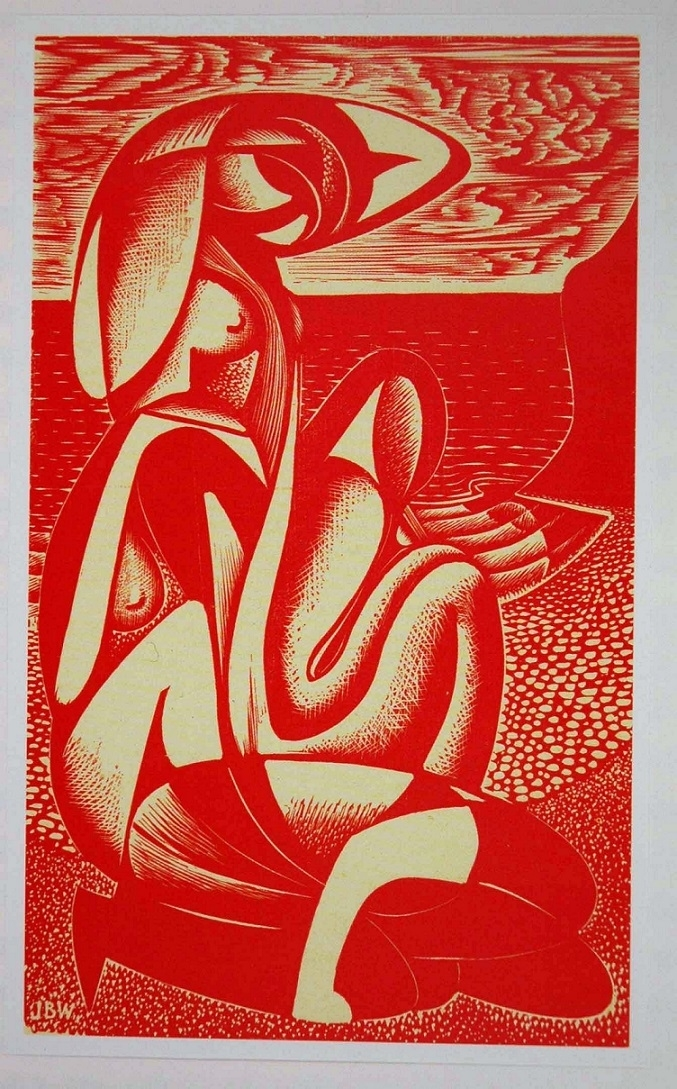 Surreal Times: The Abstract Engravings and Wartime Letters of John Buckland Wright