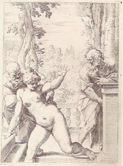 Susanna and the Elders (W. Eubanks. The Lascivie)