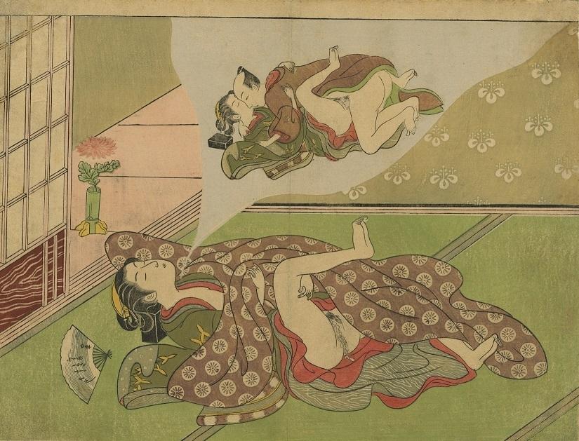 Suzuki Harunobu ukiyo-e