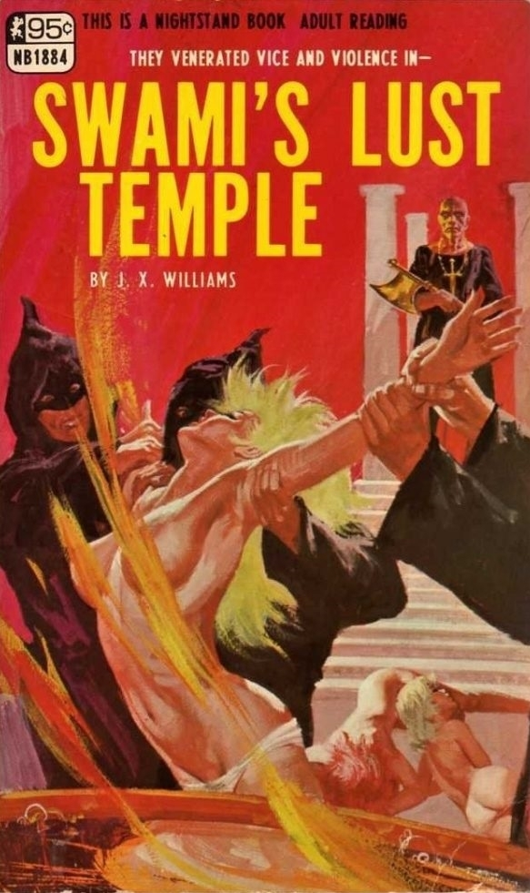 Swami's Lust Temple adult cover