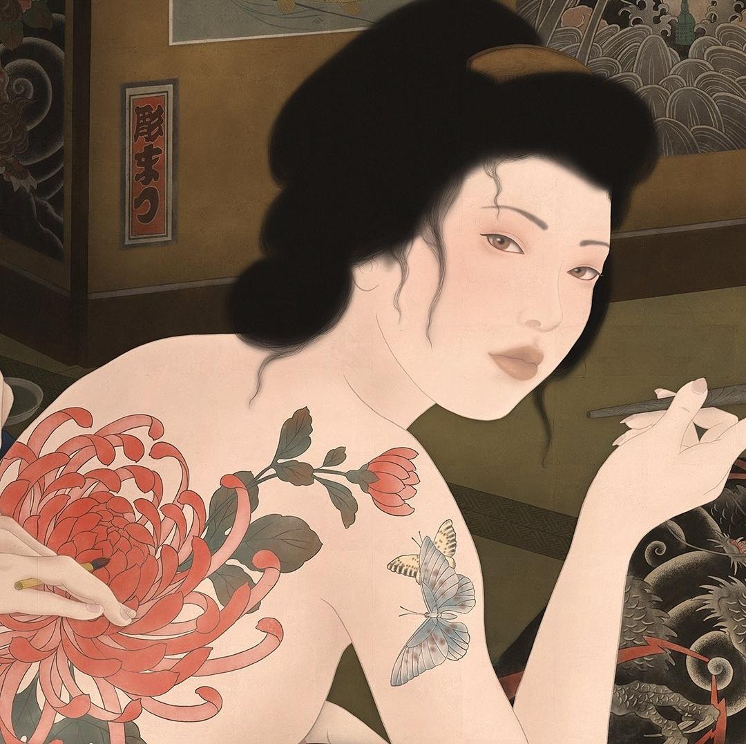 tattoo senju shunga
