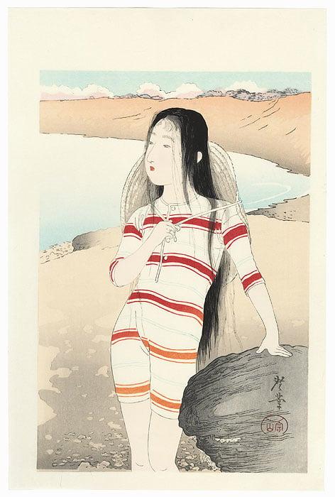 terazaki kogyp beach girl