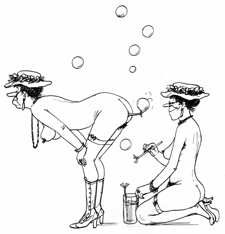 testu Les belles manières erotic art