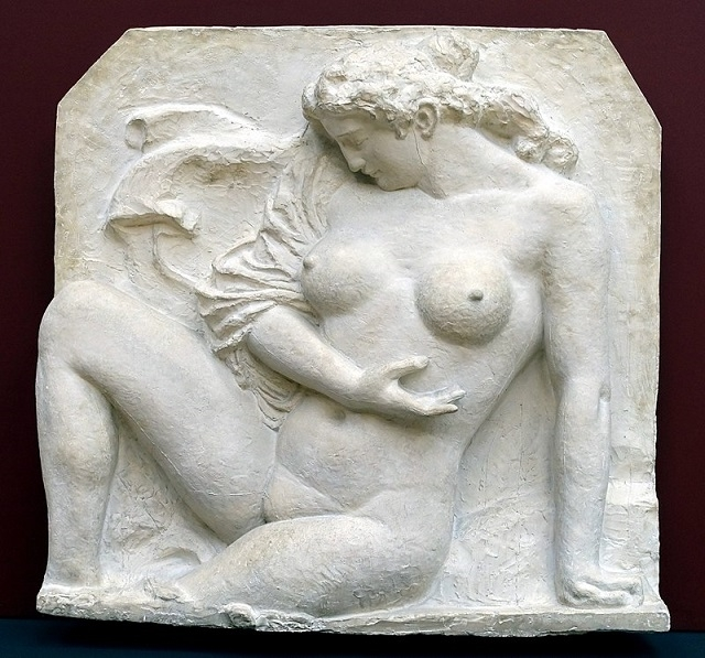 the bather by Aristide Maillol