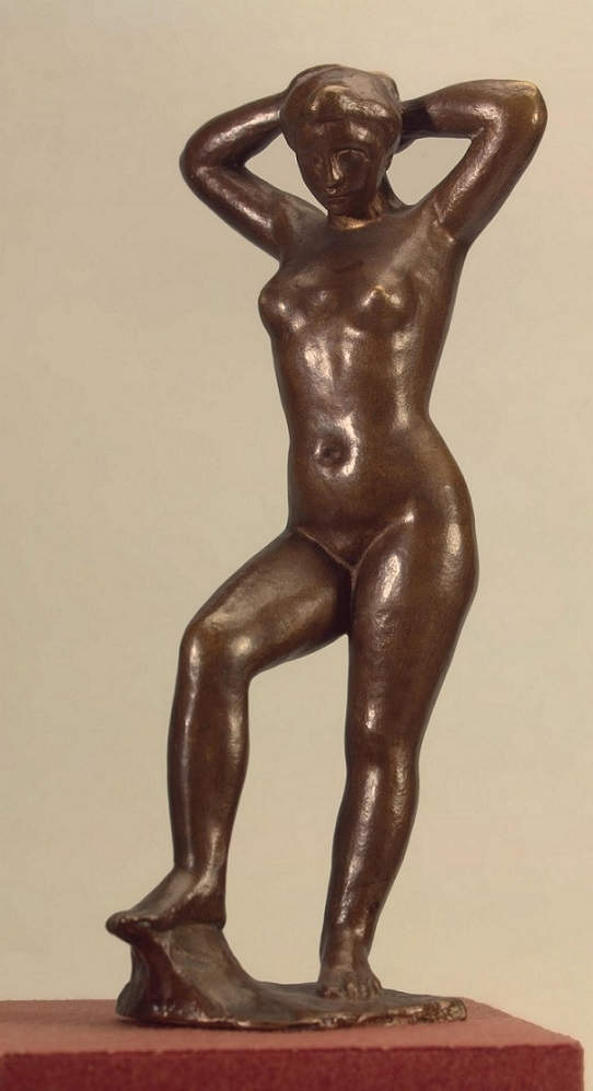 The Bather Holding Her Hair by Maillol