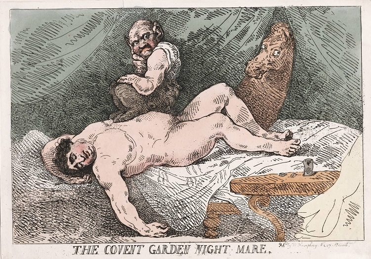 The Covent Garden Night Mare Rowlandson