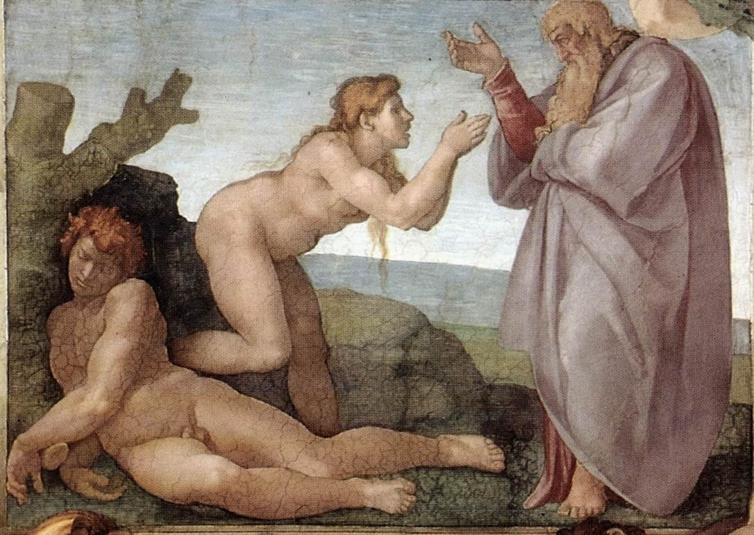 the-creation-of-eve-by-michelangelo-
