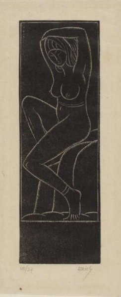 The Dancer by Eric Gill