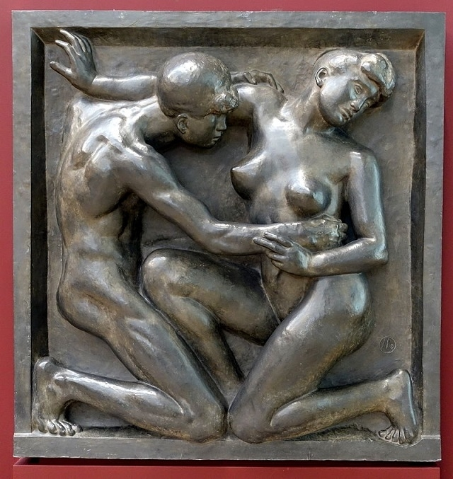 the desire by Aristide Maillol
