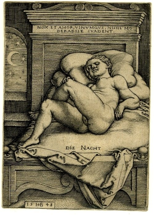 The Night Sebald Beham