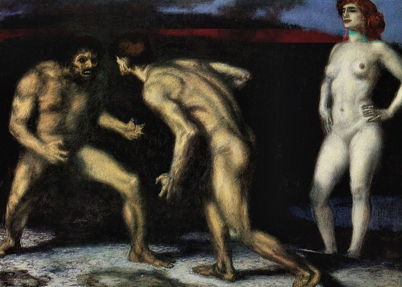the struggle for woman franz von stuck