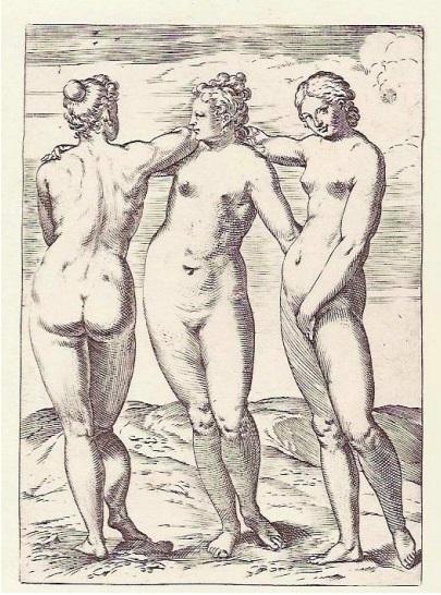 The Three Graces Carracci
