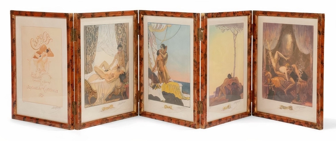 The whole set of the Caresses including The Morning and The Evening