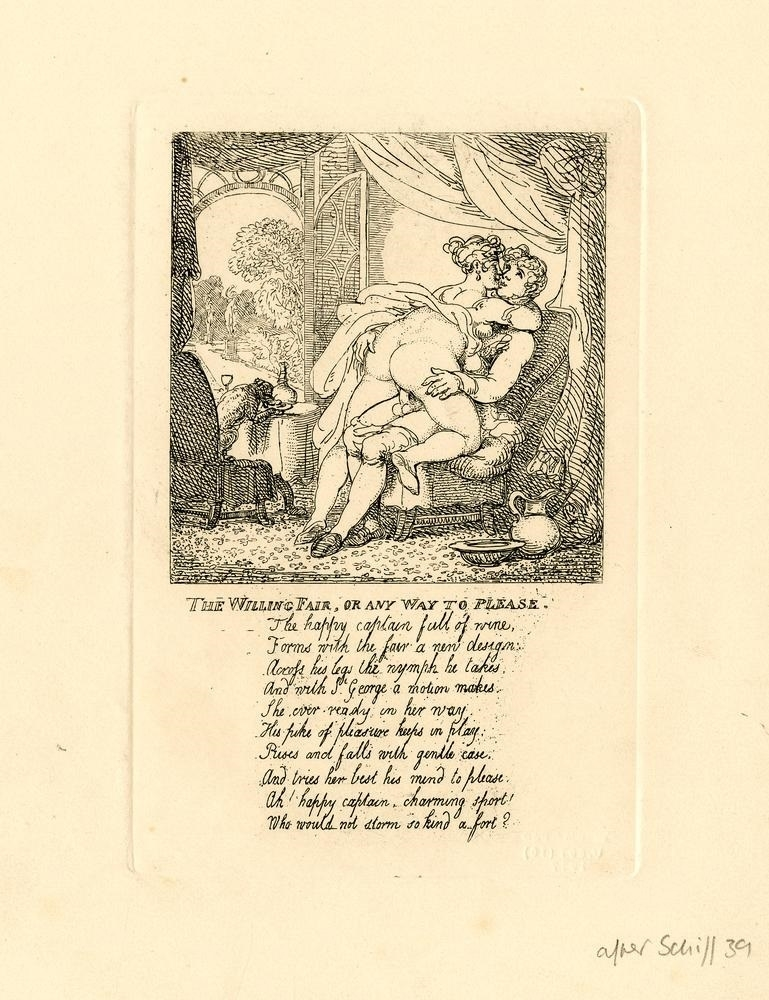 The Willing Fair, or Any Way to Please Rowlandson