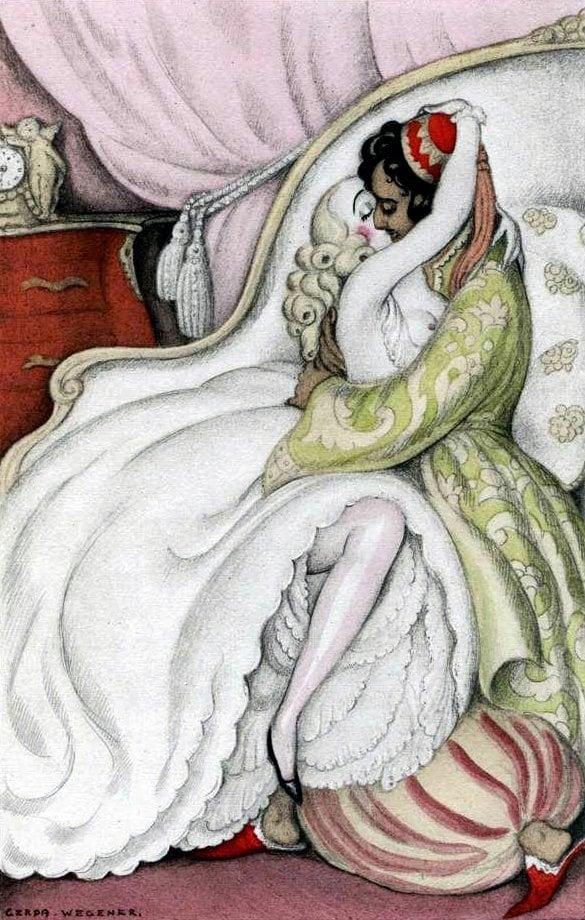 "Théophile Gautier's ""Fortunio"" Wegener"