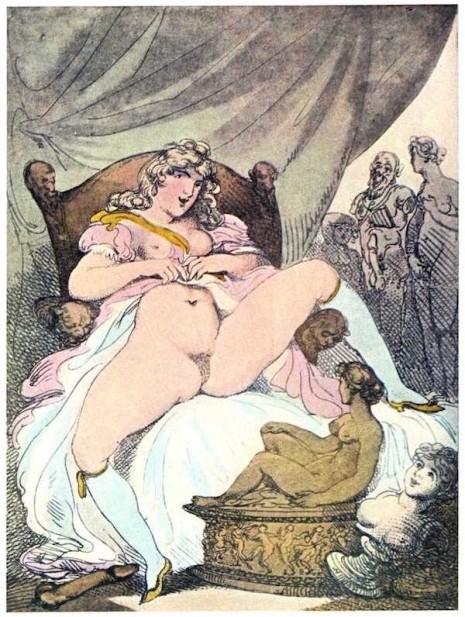 thomas rowlandson erotic etching