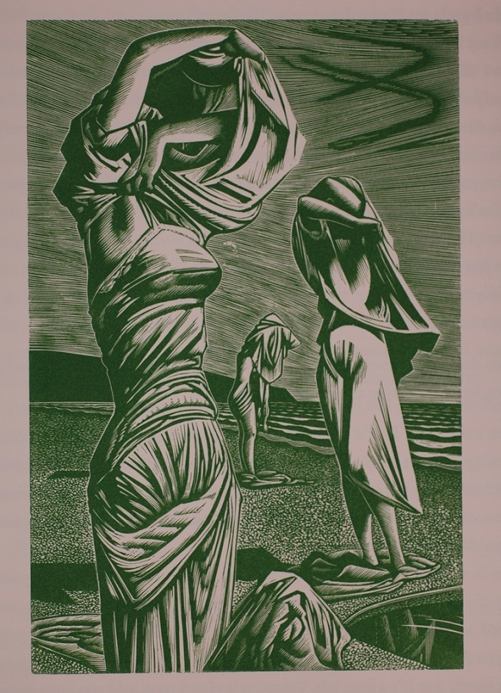 Three Bathers, John Buckland