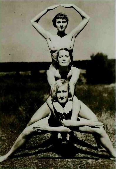 three nudes photo