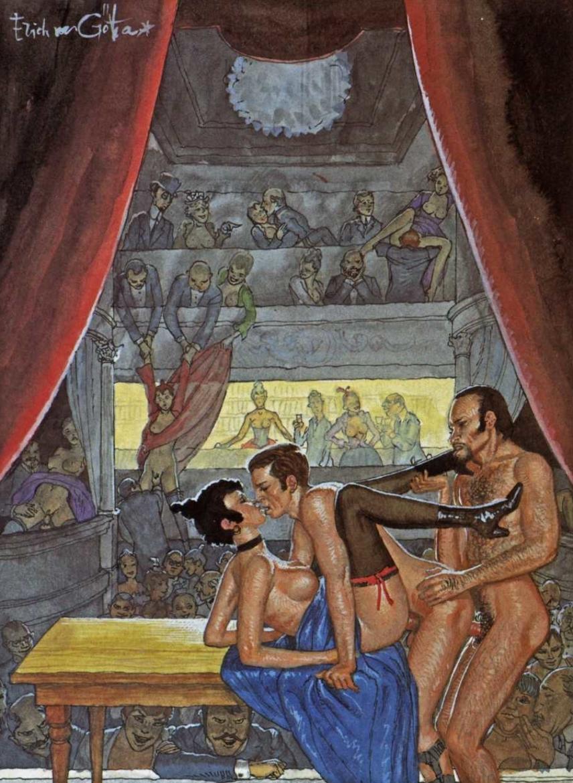 threesome gay art von gotha