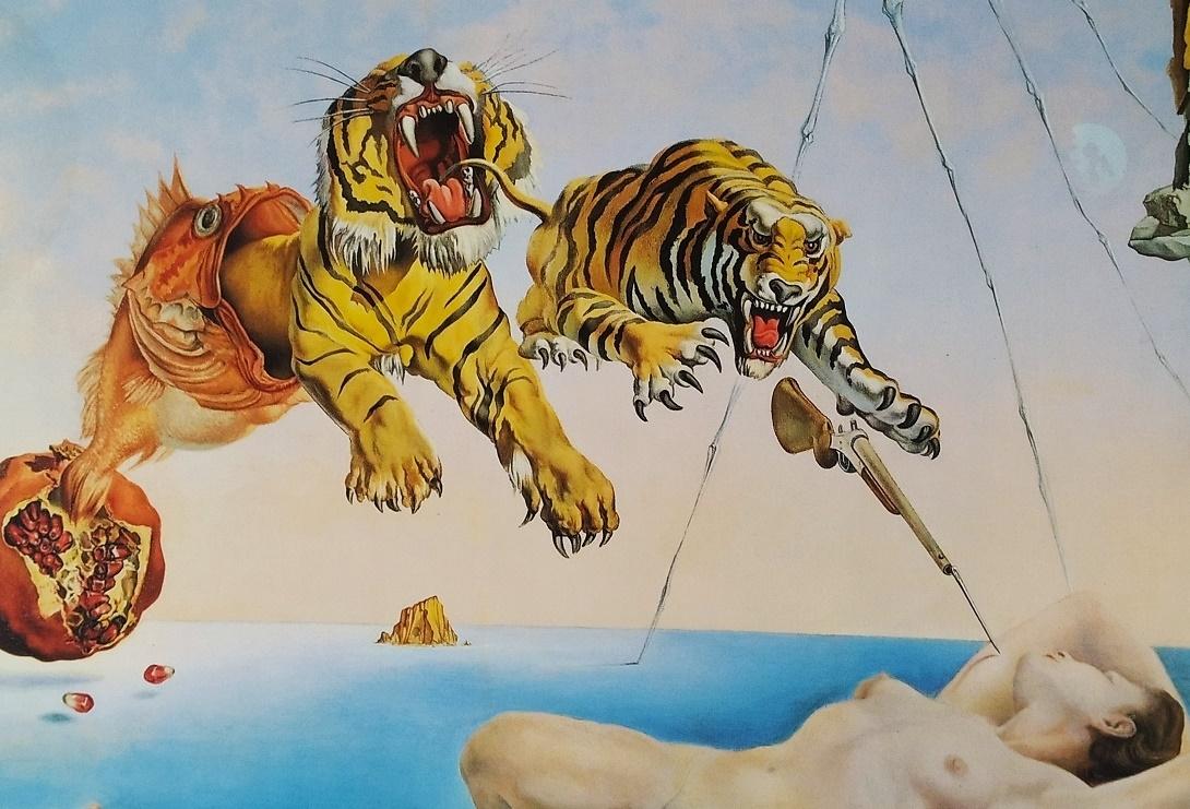 tigers Salvador Dali