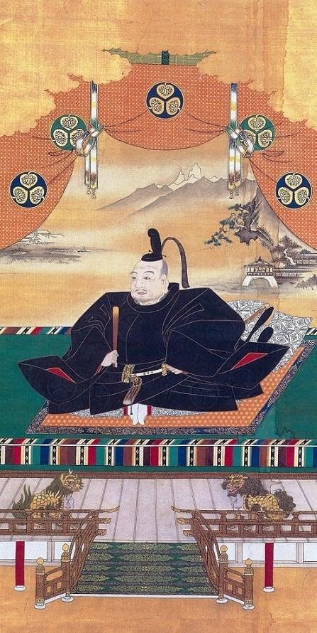 Tokugawa Iemitsu portrait