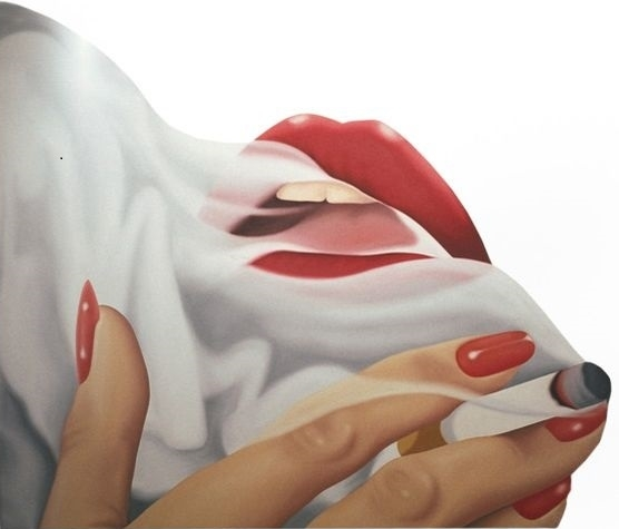 Tom Wesselmann cigarette