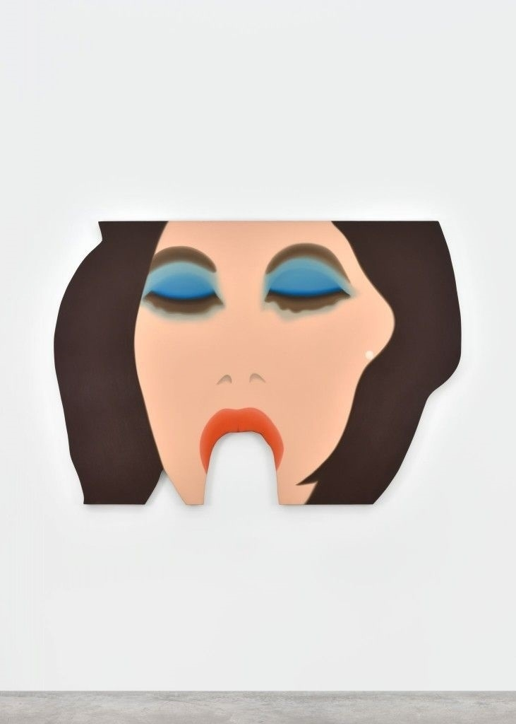 girl eating banana Tom Wesselmann