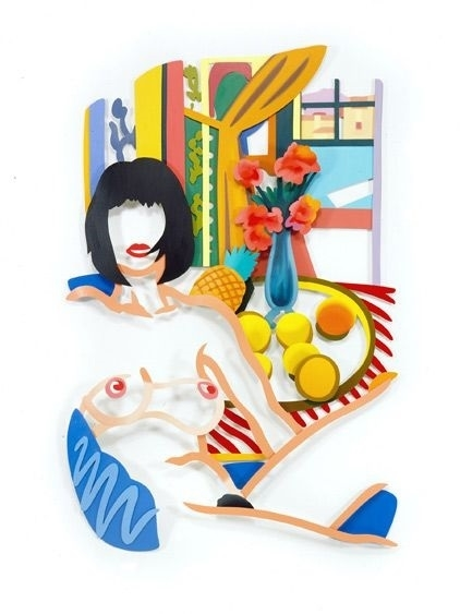 Tom Wesselmann monica and matisse