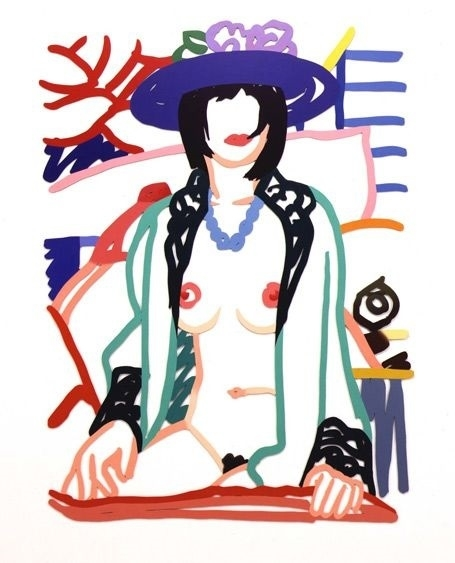 Tom Wesselmann monica in robe