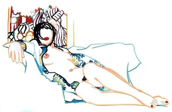 Tom Wesselmann monica nude with matisse