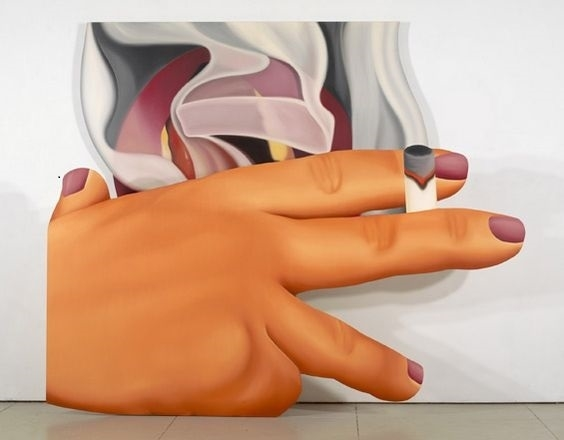 Tom Wesselmann pop art smoker