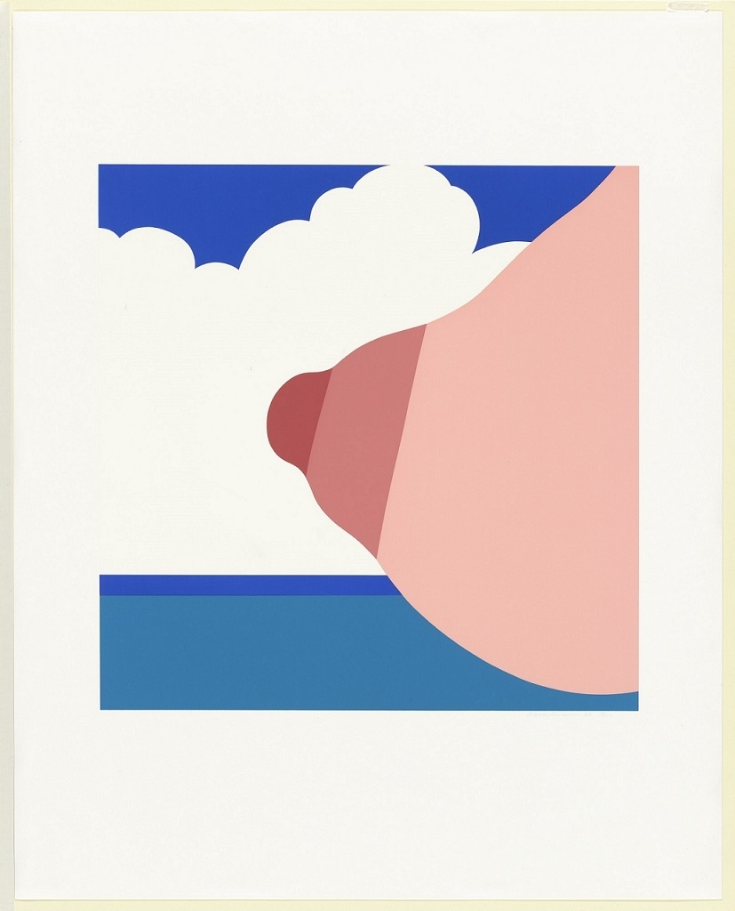 Tom Wesselmann seascape tit