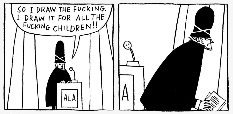 Tomi Ungerer comic book