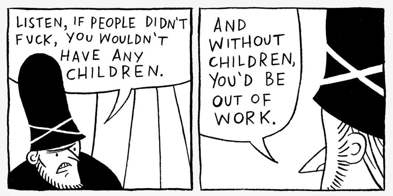 Tomi Ungerer comic strip