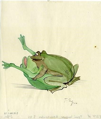 tomi ungerer copulating frogs