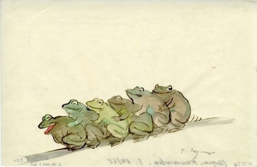 tomi ungerer frogs