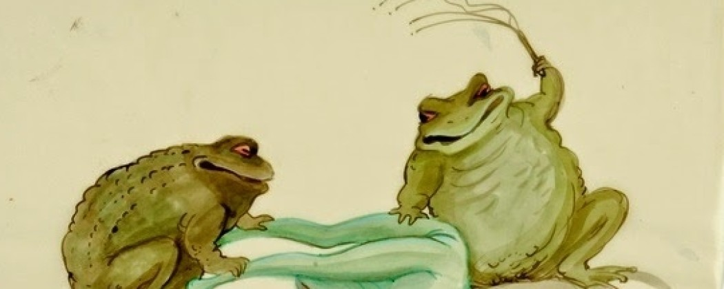 Tomi Ungerer's Lustful Frogs, Erotic Plants, and Crazy Sex Machines