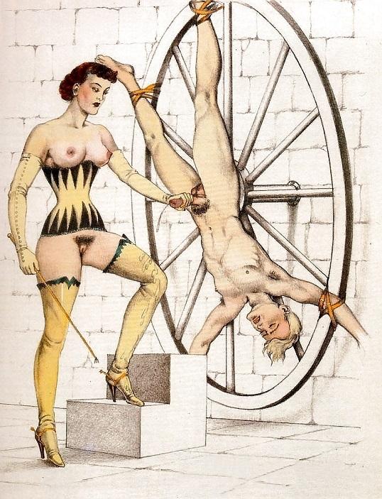 torture wheel Bernard Montorgueil