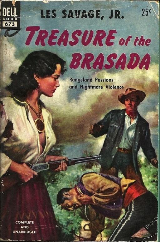 Treasure of the Brasada By Les Savage Jr.