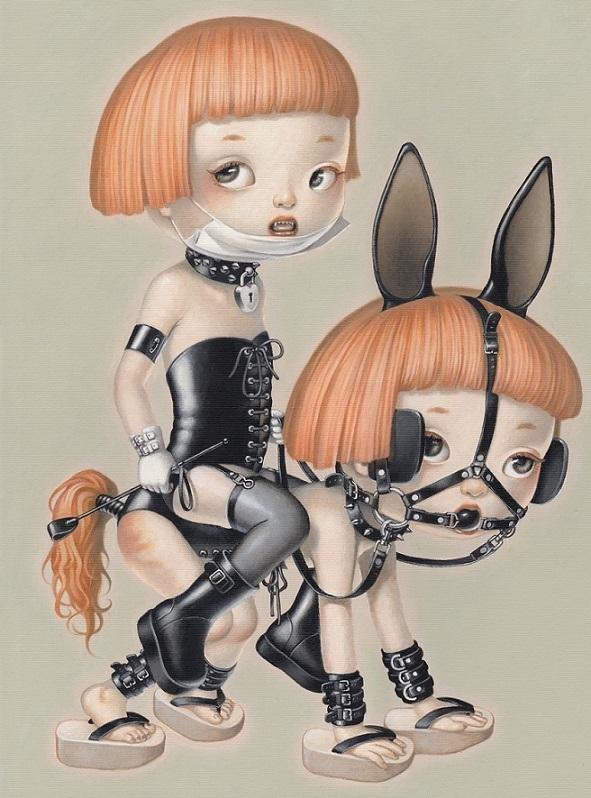 Trevor Brown BDSM dolls