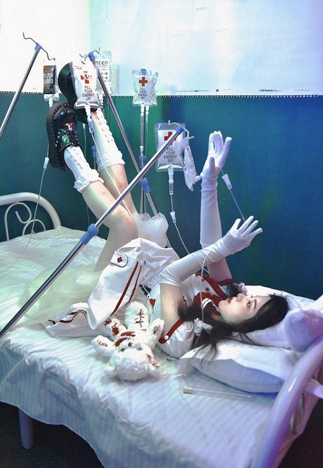 trevor brown nurse in bed