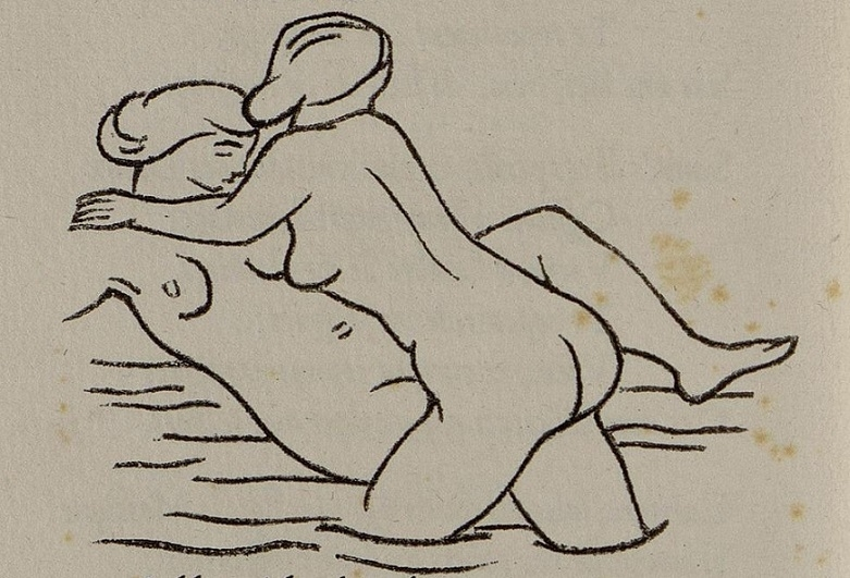 Two bathing women Maillol