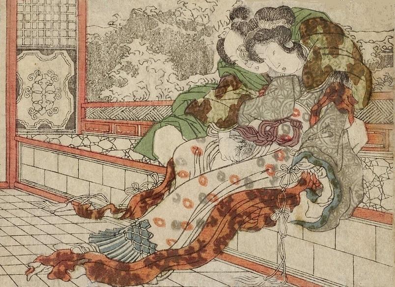 Urashima Taro and Otohime erotic